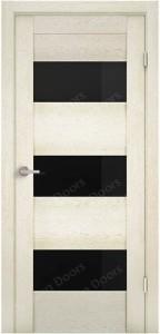 Ясень белый стекло чёрное триплекс