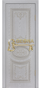 Белый цвет патина серебро 3D фрезеровка, глухое