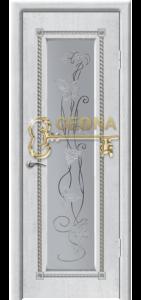 Белый цвет патина серебро 3D фрезеровка, стекло гравировка