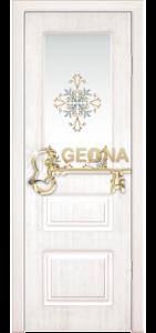 Белый цвет патина серебро 3D фрезеровка, стекло краска
