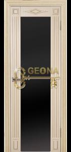 Ваниль матовая патина золото 3D  фрезеровка, стекло триплекс