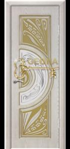 Квазар перламутр патина золото 3D  фрезеровка, стекло гравировка