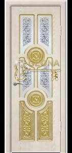 Квазар перламутр патина золото 3D  фрезеровка, стекло наливной витраж