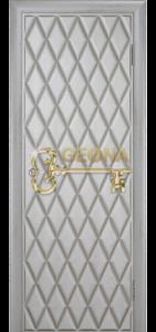 Квазар перламутр патина серебро 3D фрезеровка, глухое
