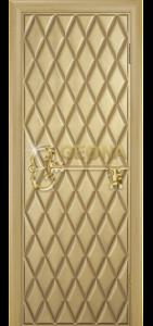 Крем патина золото 3D фрезеровка, глухое