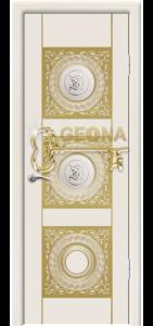 Крем патина золото 3D фрезеровка, стекло гравировка