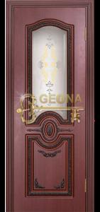 Махагон патина коричневая 3D фрезеровка, стекло гравировка, краска