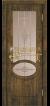 Дуб антик 11, стекло бронза