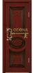 Махагон патина коричневая 3D фрезеровка, глухое