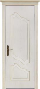 Межкомнатная дверь Геона Джулия, ясень патина золото, глухое