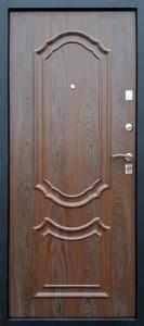 Входная дверь Венеция Покров, панель венге патина 3D