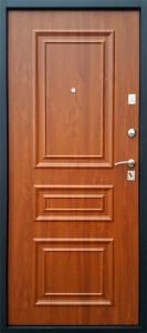 Входная дверь Византия Покров, панель золотой дуб 3D