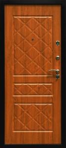 Дверь входная Эко-стандарт Покров, панель золотой дуб