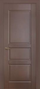 Межкомнатная дверь Геона  Монако, эмаль коричневый