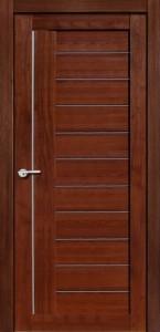 Межкомнатная дверь Палермо экошпон памплона мелинга, стекло матовое
