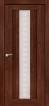 Дверь межкомнатная, Версаль 1 экошпон памплона мелинга, стекло матовое