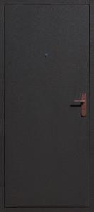 Дверь АМД-1 чёрный шелк