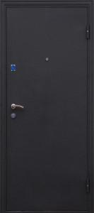 Дверь Олива черный шелк